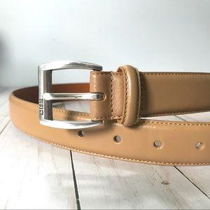 LAUREN Ralph Lauren Tan Leather Belt